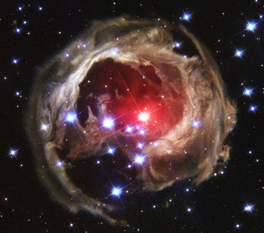 Belleza en los colores del universo