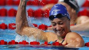 Belmonte, plata en 400 metros estilos