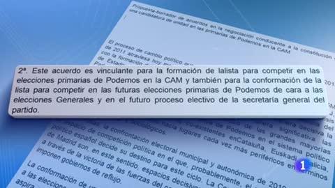 Bescansa responsabiliza a su equipo de la publicación por error de una propuesta para desbancar a Iglesias