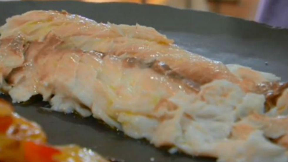 Aquí la tierra - Besugo, receta con mucho salero