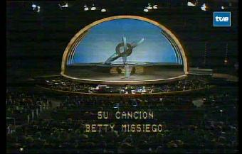 Eurovisión 1979 - Betty Missiego