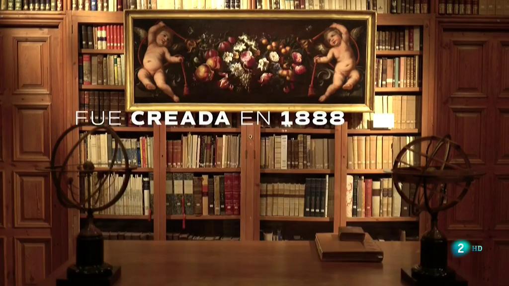 Página Dos - La Biblioteca - Biblioteca del Castell de Peralada