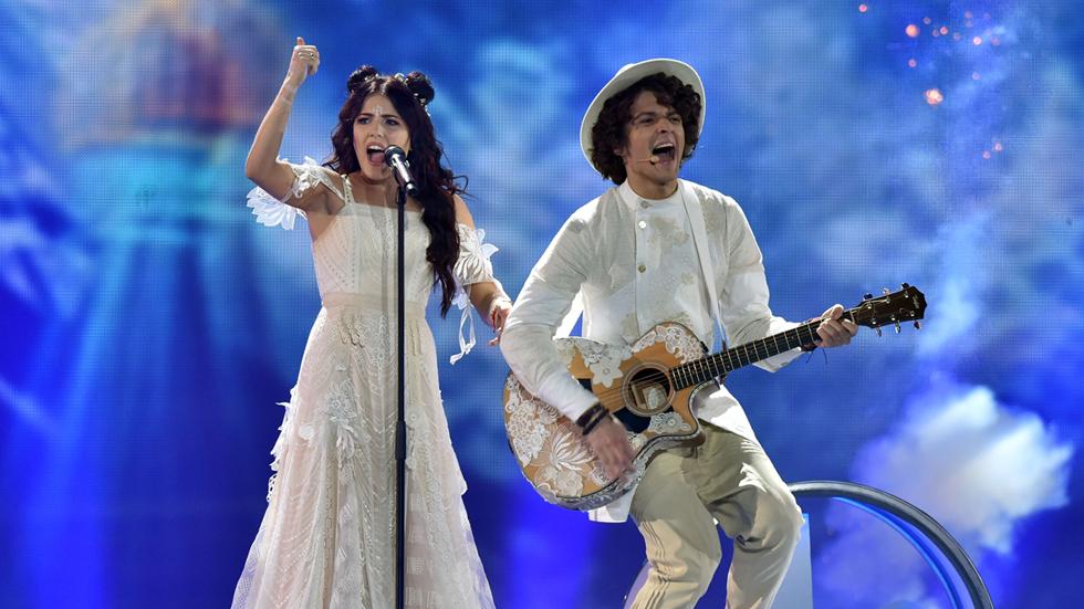 Eurovisión 2017 - Bielorrusia: NavyBand canta 'Story of my life'