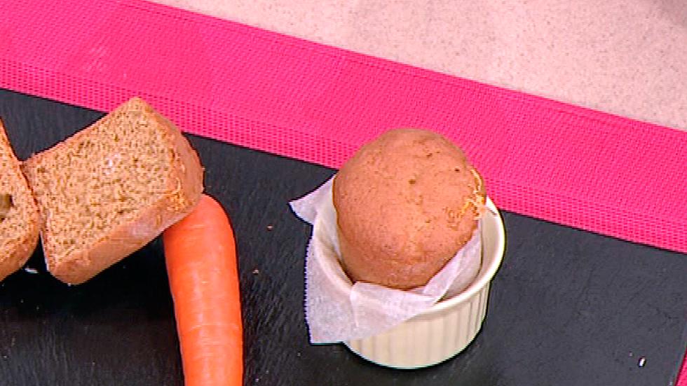 Cocina con Sergio - Escuela de pastelería: Bizcocho de zanahorias