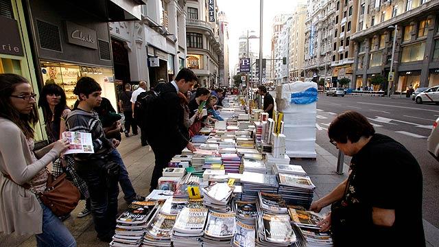 Madrid ha vivido esta semana la gran noche de la literarura y de los libros.