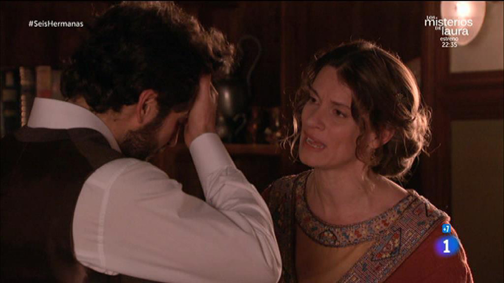 Seis Hermanas - Blanca le pregunta a Cristóbal por qué le mintió sobre Inés