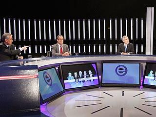 Bloque de economía del Gran Debate a cinco en RTVE