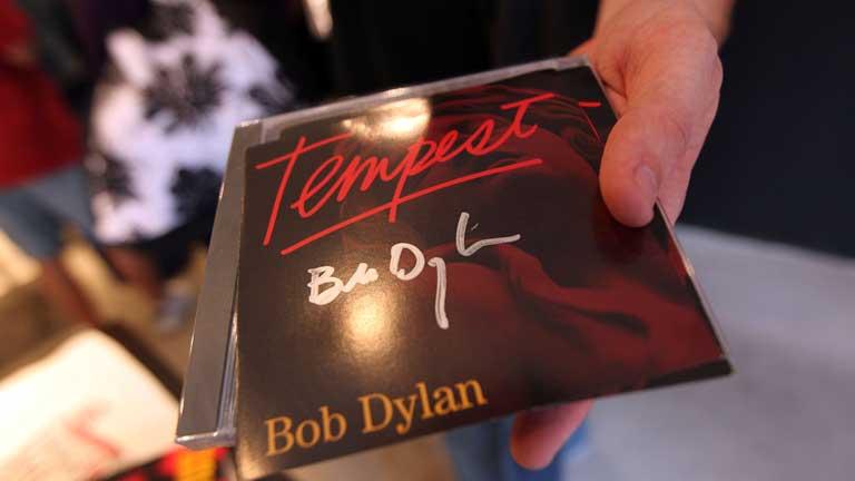 "Bob Dylan edita ""Tempest"""