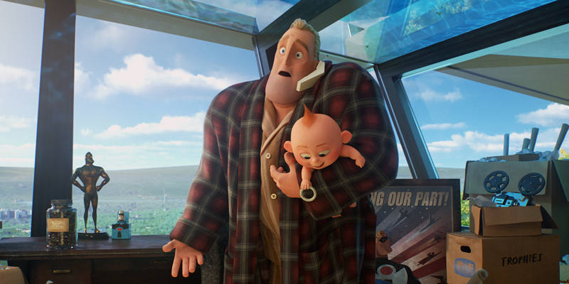 Bob se convierte en la niñera de un todopoderoso Jack-Jack