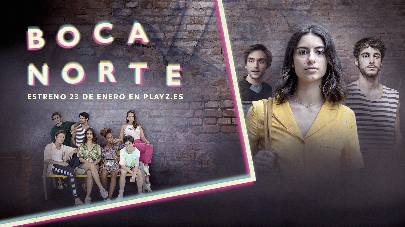Telediario - 'Boca Norte', la nueva serie de Playz, se estrena este 23 de enero