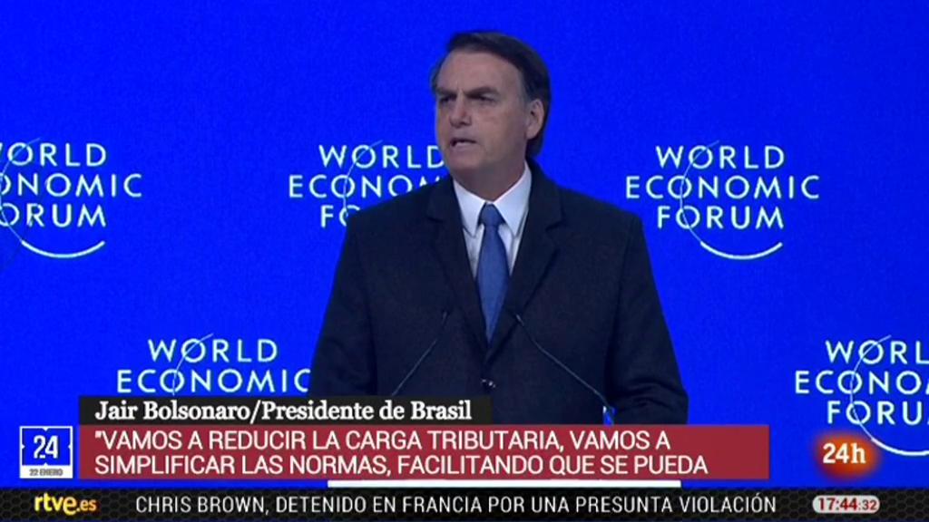 Bolsonaro promete abrir la economía brasileña al mundo