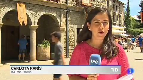 Boltaña, Huesca, se han convertido este fin de semana en la capital de los lutieres