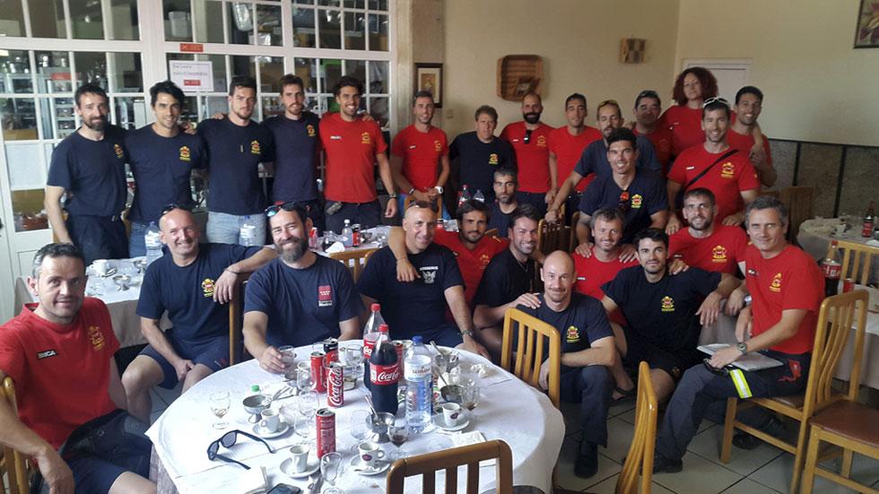 Los bomberos de la Comunidad de Madrid vuelven de Portugal tras salvar a dos pueblos del incendio