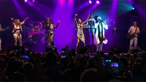 Boney M ofreció un concierto en las Fiestas de Bilbao