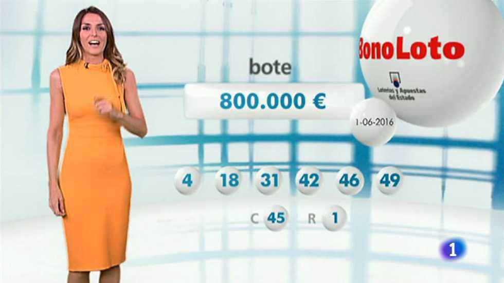 Bonoloto - 01/06/16