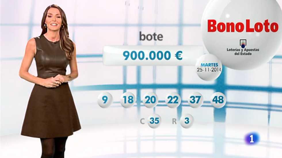Bonoloto + EuroMillones - 25/11/14