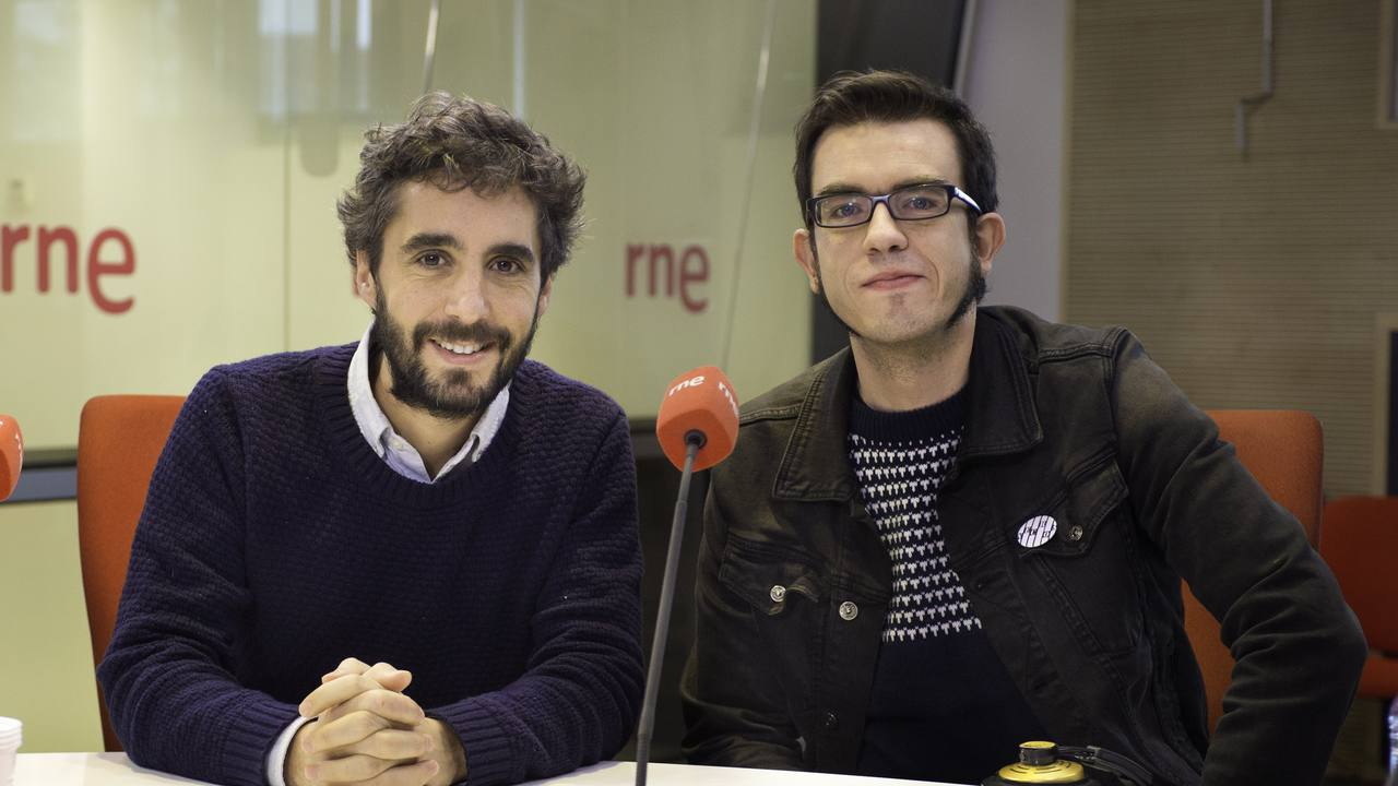 Borja Echevarría y Mario Albelo en 'Las mañanas de rne'