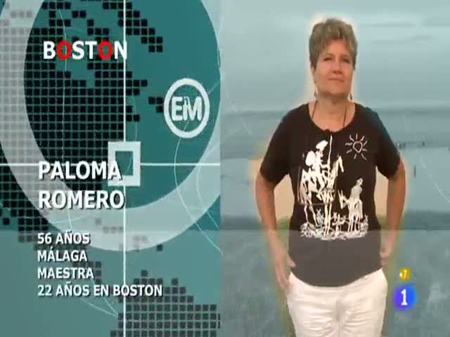 Españoles en el mundo - Boston - Paloma
