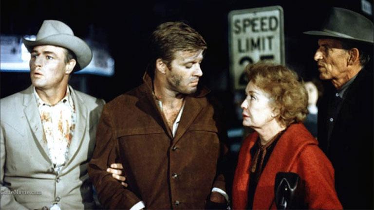 Brando, Redford y Fonda protagonizan 'La jauría humana', en Clásicos de la 1
