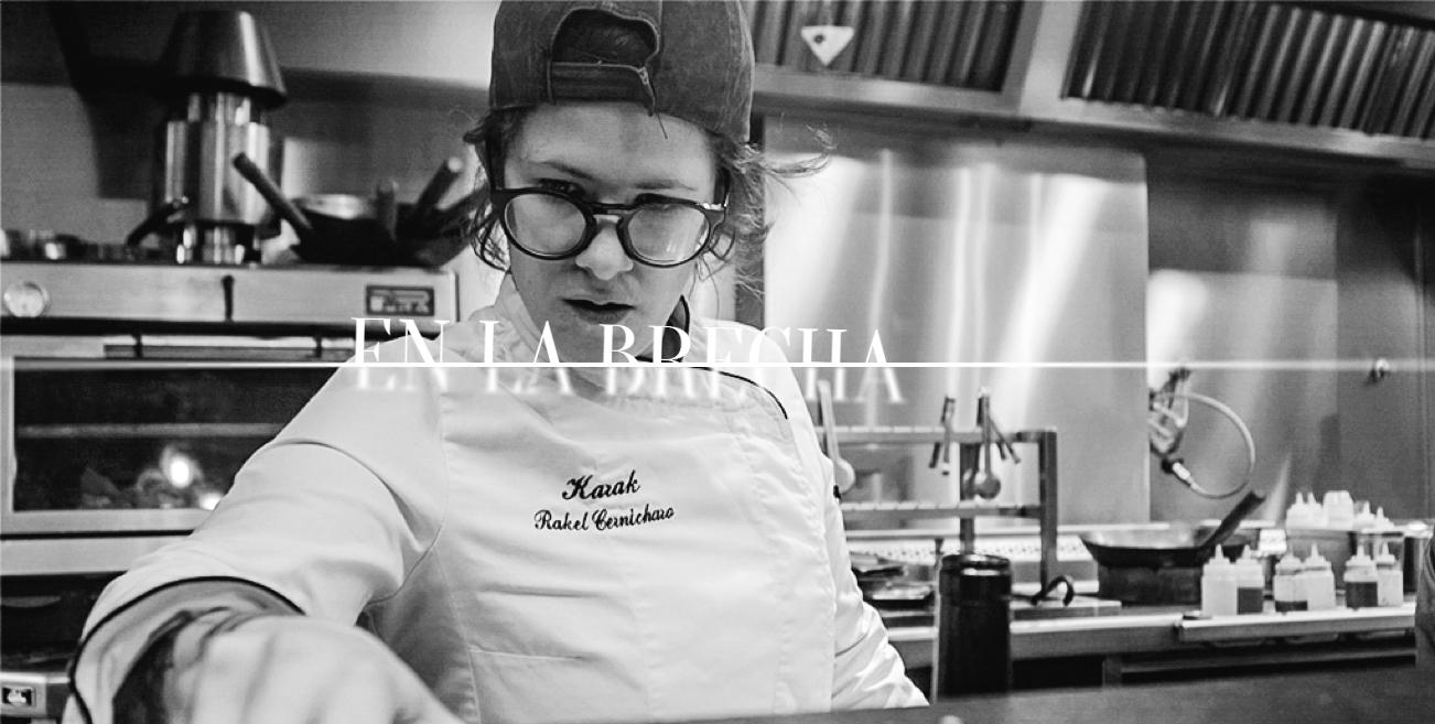 En la brecha: Rakel Cernicharo, una chef concienciada