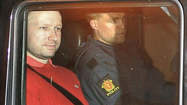 Breivik no ofreció ninguna resistencia al ser detenido