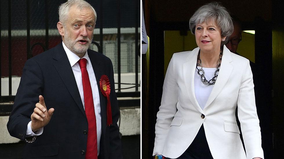 Los británicos votan entre Theresa May y Jeremy Corbyn en unas elecciones impredecibles