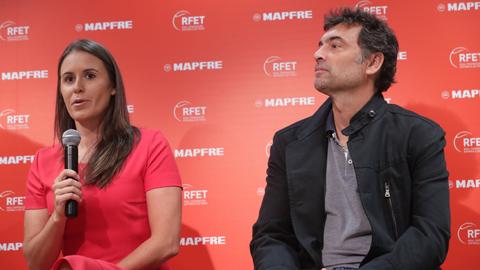 """Bruguera y Medina afrontan con """"muchísima ilusión"""" la Davis y la Copa Federación"""