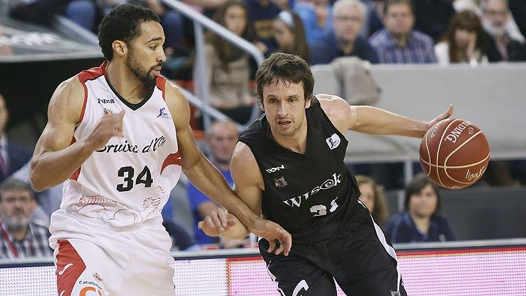 La Bruixa d'Or Manresa 76- Bilbao Basket 77