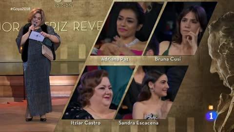 Bruna Cusí, Goya 2018 a la mejor actriz revelación por 'Verano de 1993'