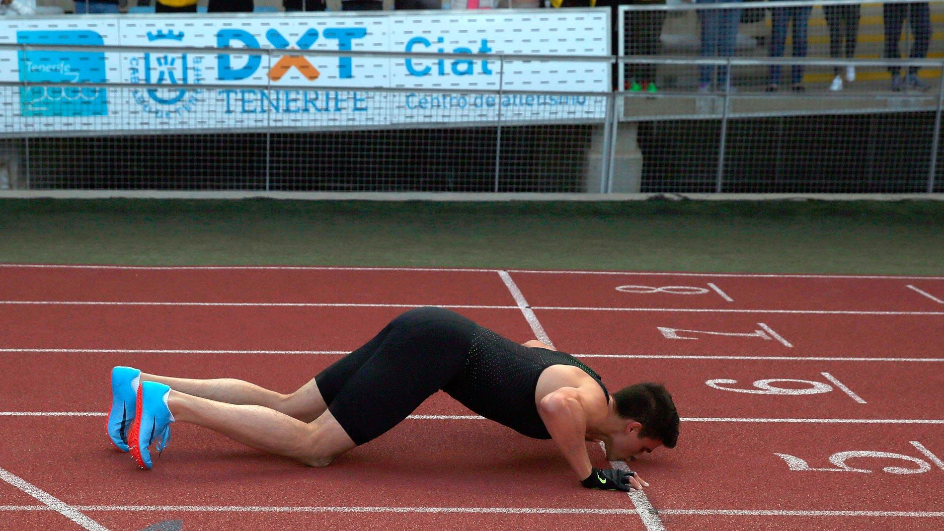 Bruno Hortelano regresa con su mejor marca personal en 400 metros