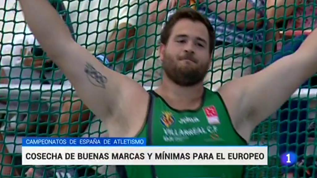 Buena cosecha de mínimas y récords en el campeonato de España de atletismo
