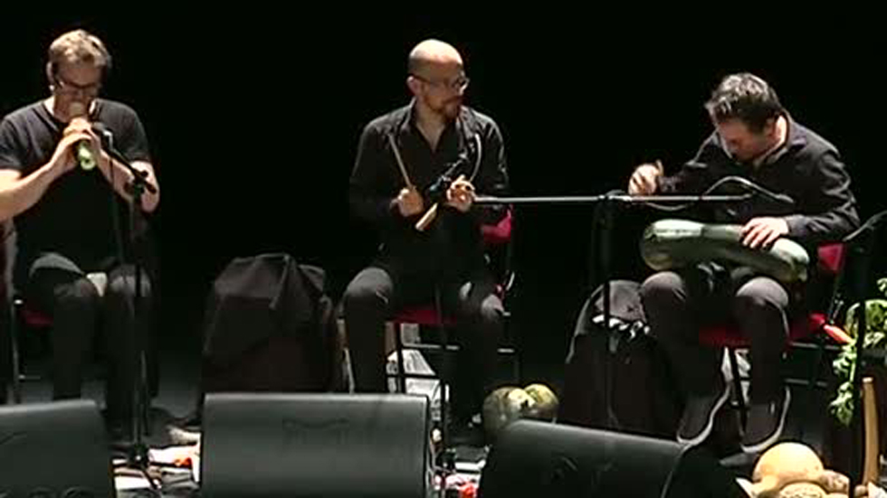 """Burgos celebra un concierto con una orquesta """"vegetal"""""""