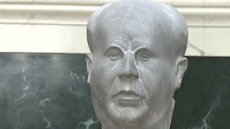 El busto de Manuel Azaña ya está en el Congreso