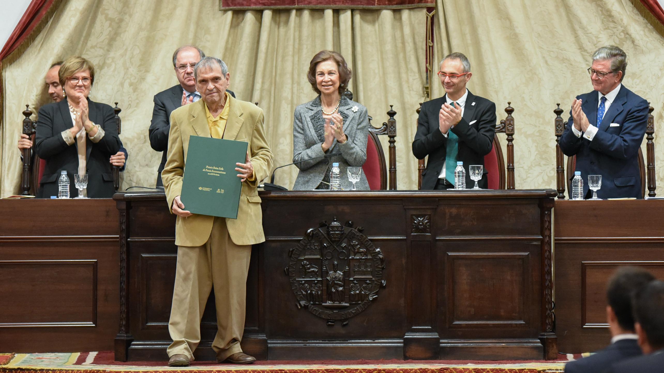Rafael Cadenas, premio Reina Sofía de Poesía Iberoamericana 2018