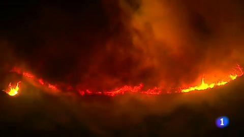 En California, el fuerte viento amenaza con extender los seis grandes incendios que permanecen activos desde el pasado lunes