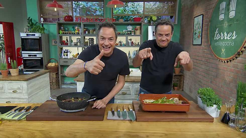 Torres en la cocina - Callos vegetales y dorada al pesto