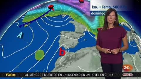 Calor en el interior de Andalucía y descenso de las temperaturas en el área mediterránea y en Canarias