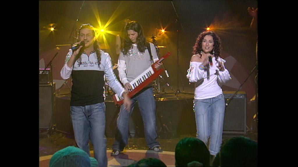 """Cachitos de Hierro y Cromo - Camela """"Cuando zarpa el amor"""" (Música si, 2004)"""