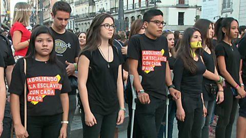 Buenas noticias TV - Caminando por Libertad