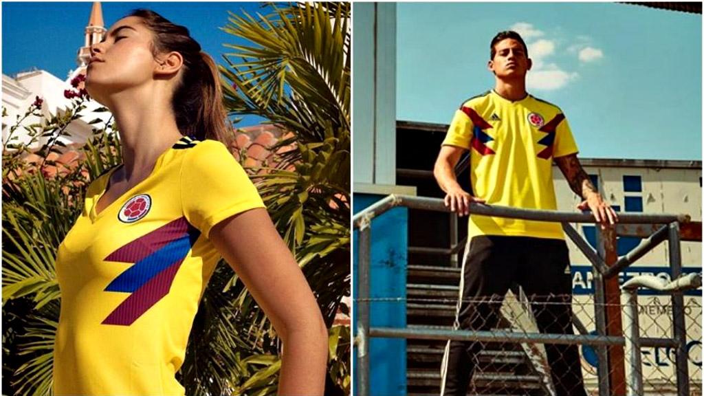 La camiseta de Colombia para Rusia 2018 también crea la polémica