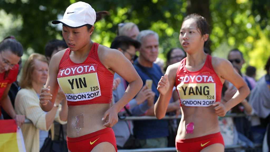 Atletismo - Campeonato del Mundo al Aire Libre. 10ª jornada sesión matinal (2)