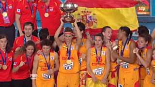 Baloncesto - Campeonato de Europa femenino. Final: España - Francia