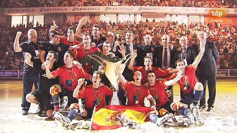 Hockey patines - Campeonato del Mundo. Final. España - Argentina