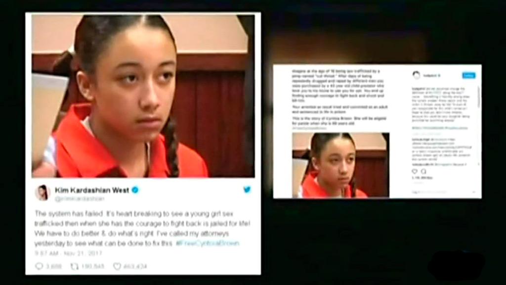 Campaña en EE.UU. para reclamar la excarcelación de una joven que mató a su proxeneta con 16 años
