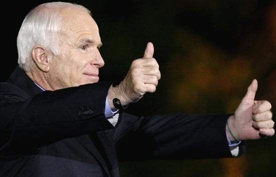 La campaña de John McCain