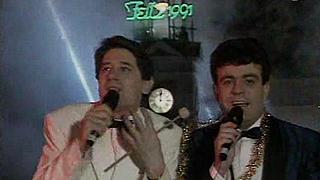 Campanadas-1991 Martes y 13 primeros presentadores de las campanadas