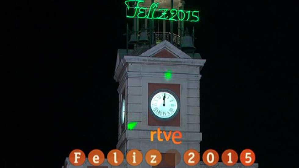 Campanadas 2015 en TVE