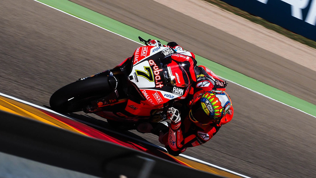 Motociclismo - Campeonato del Mundo Superbike. WSBK 2ª Carrera prueba Aragón