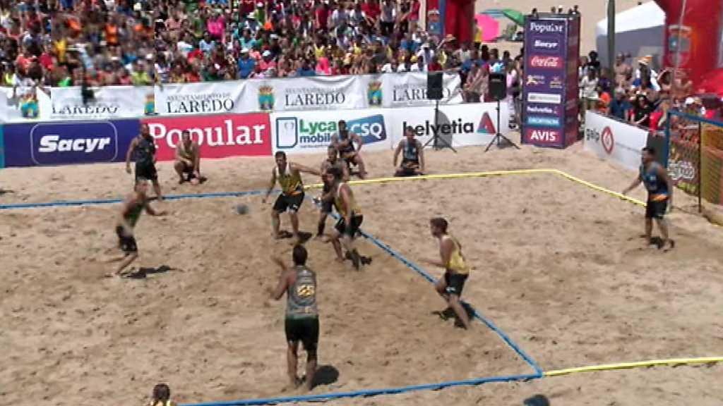 Balonmano Playa - Campeonato de España Final Masculina
