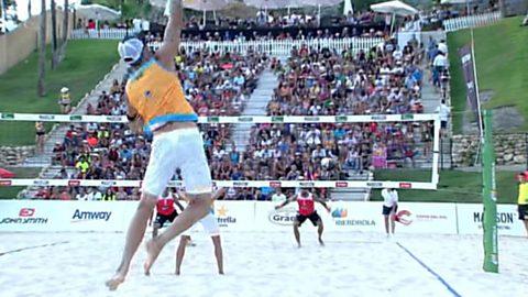 Voley playa - Madison Beach Volley Tour 2017. Campeonato de España Final Masculina